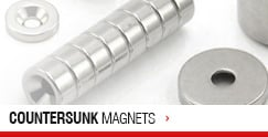 Countersunk Magnets