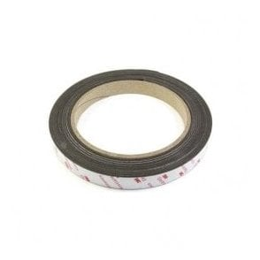 25.4mm wide x 0.85mm thick Flexible Neodymium Magnetic Tape with 3M Self Adhesive - Self Mating