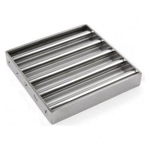 Food Industry Grade Stainless Steel Magnetic Separator Grid - 10,000 Gauss (Size Options Available)