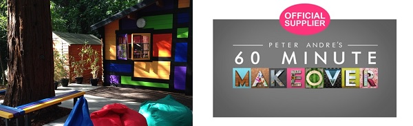Haven House Buddy Hut and 60minute makeover supplier logo