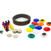 Magnets for magnetic paint