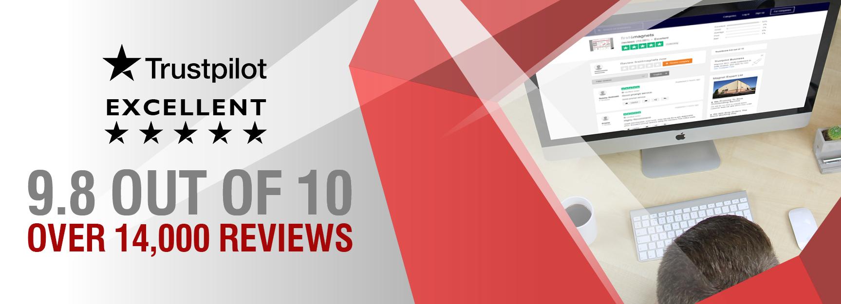 Trustpilot 14,000 Reviews