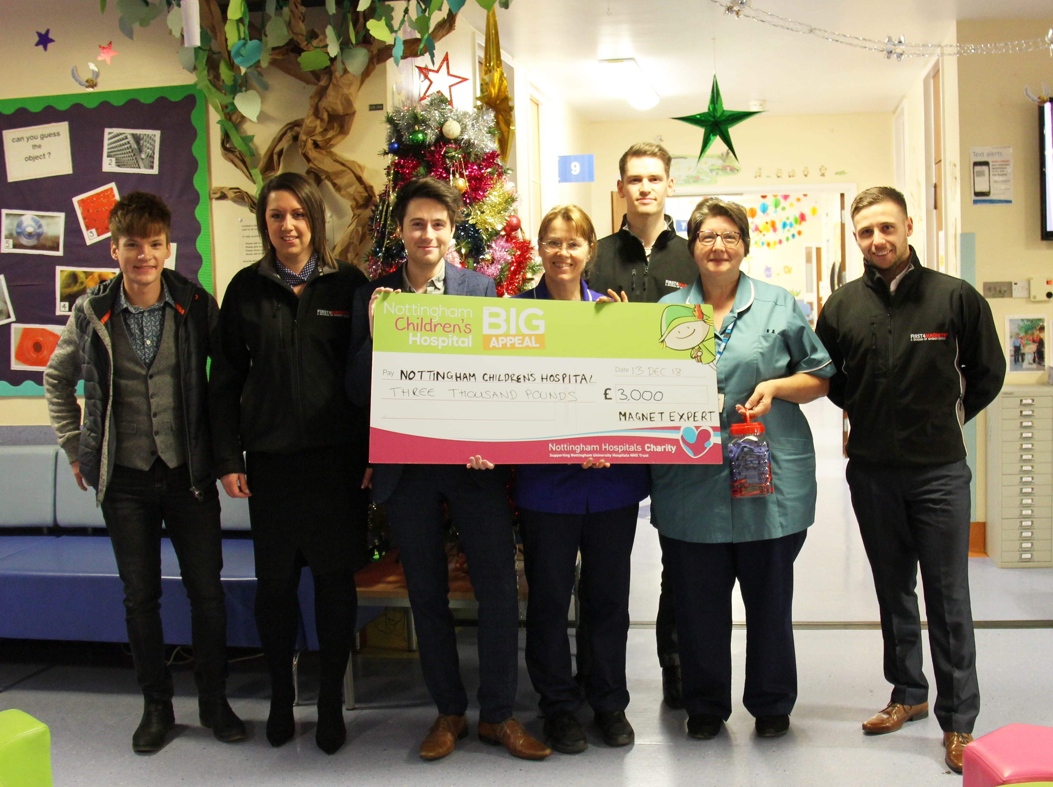 Cheque Donation Children's Hospital