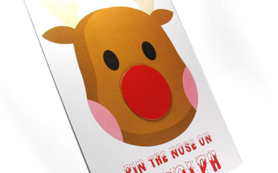 photo relating to Pin the Nose on Rudolph Printable identify Generate a pin the nose upon Rudolph the Reindeer video game