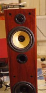 Repaired speaker