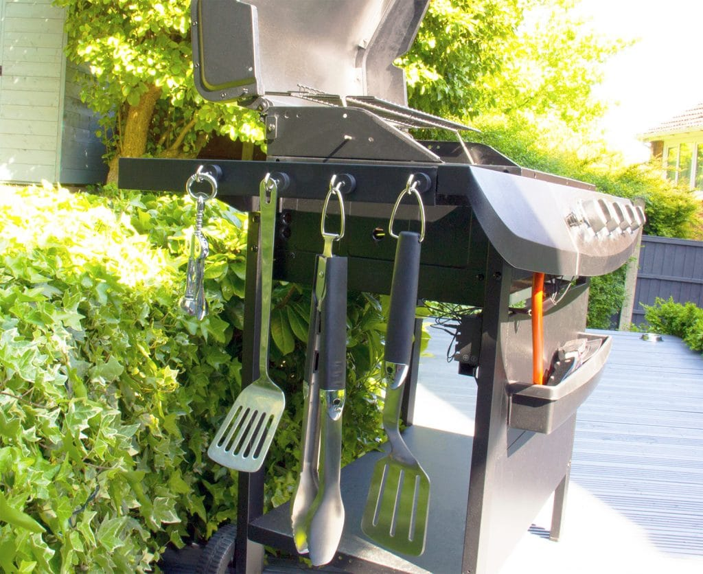 Customer Application - BBQ Magnetic Hooks