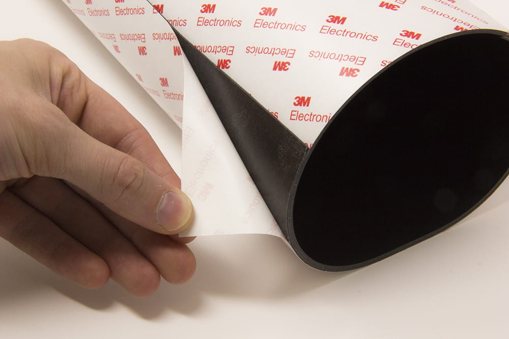 Peeling Self-Adhesive on MagFlex® sheets