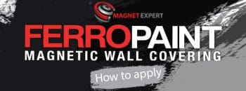 How to apply FerroPaint by magnet expert