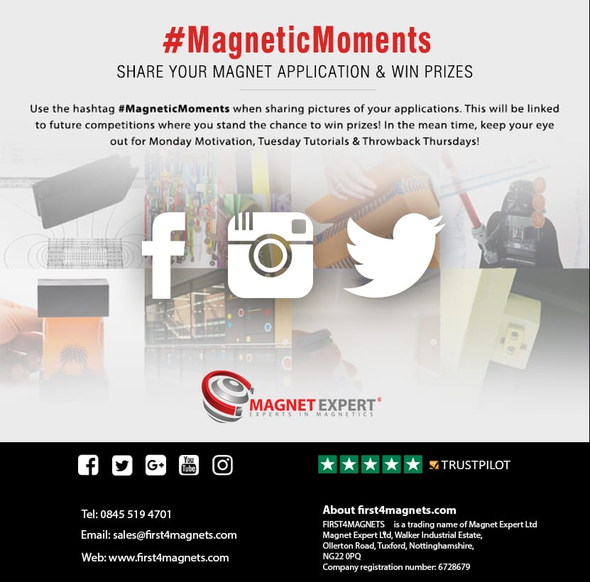 Get social with First4Magnets