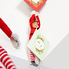 Our Creative Elf On The Shelf Ideas Using Magnets