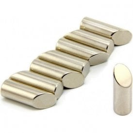 10mm dia x 30mm thick N42 Neodymium Mitre Magnet - 3.6kg Pull (North) (Pack of 32)