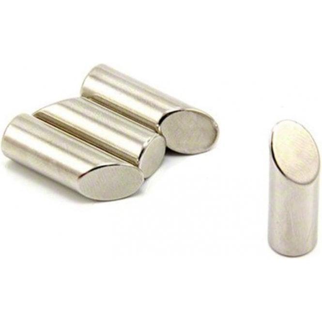 10mm dia x 30mm thick N42 Neodymium Mitre Magnet - 3.6kg Pull