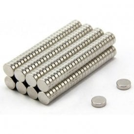 10mm dia x 3mm thick N42 Neodymium Magnet - 1.8kg Pull (Pack of 200)