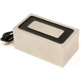 114.3 x 63.5 x 50.8mm thick Electromagnet with 6mm Mounting Hole - 400kg Pull (12V DC / 12W)