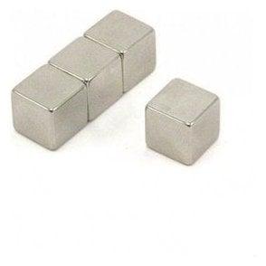 12 x 12 x 12mm thick N42 Neodymium Magnet - 7.4kg Pull