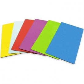 140 x 80 x 0.85mm Flexible Magnetic Sheet with Gloss Dry-Wipe Surface