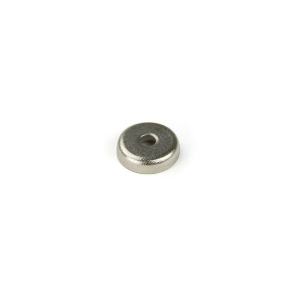 32mm dia Neodymium Pot Magnet Pack of 1 Stainless Steel /& Rubber Coated