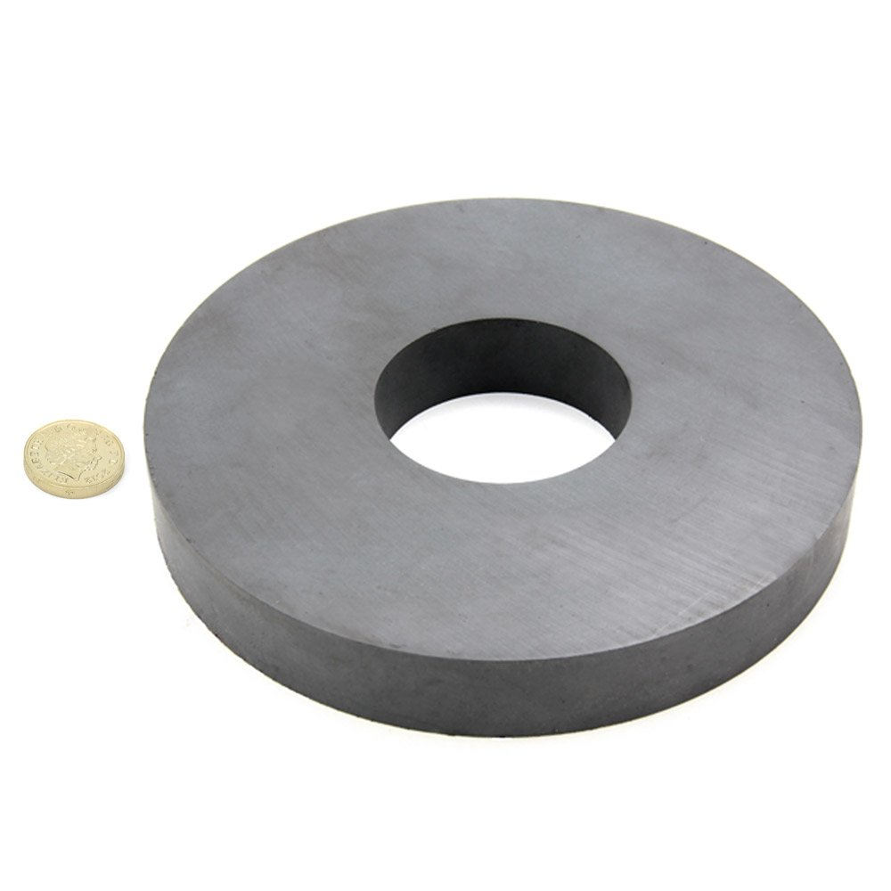157mm O D X 56mm I D X 22mm Thick Y30bh Ferrite Ring