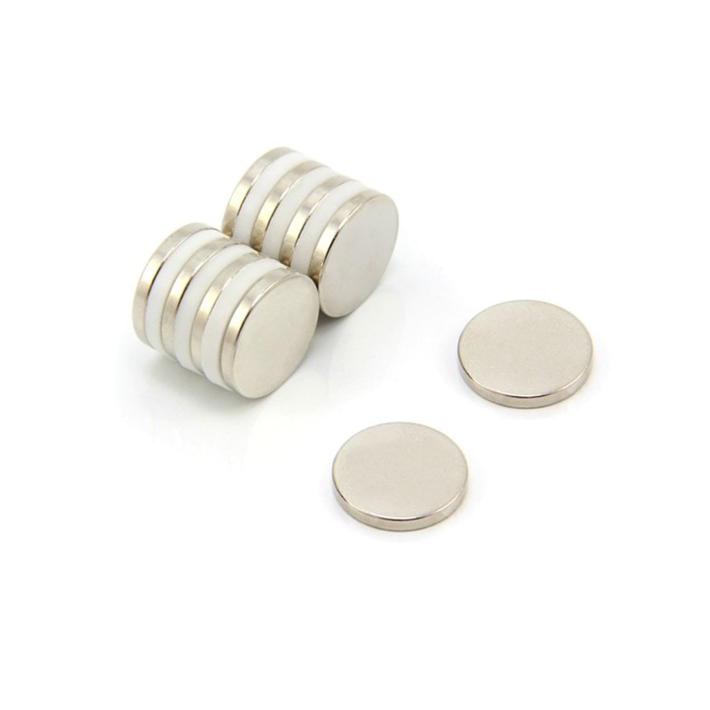 Strong 8mm Diameter x 2mm Thickness Neodymium Disc Cylinder Magnets N35 Grade