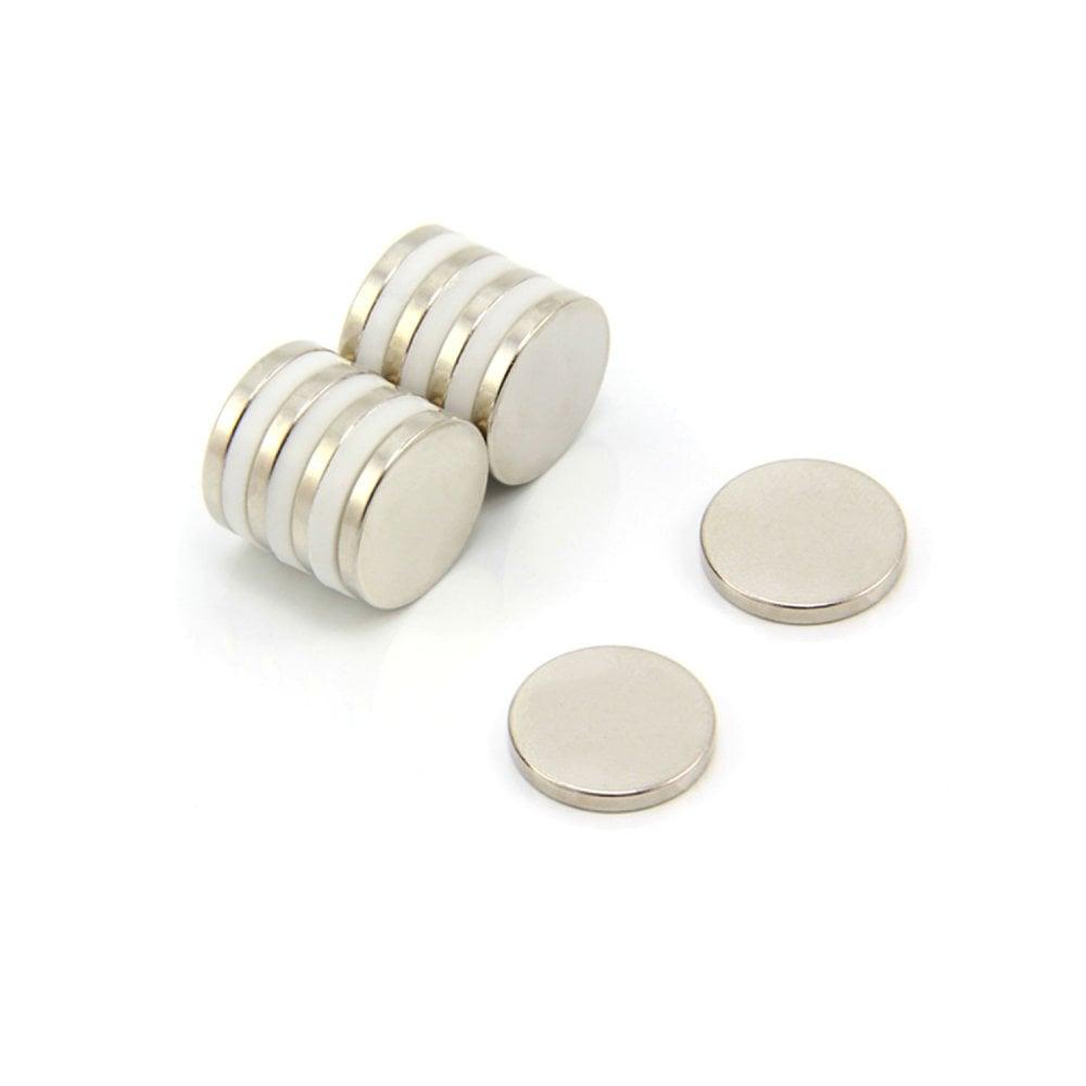 Magnet Expert/® 15mm dia x 2mm thick N42 Neodymium Magnet Pack of 20 2.2kg Pull