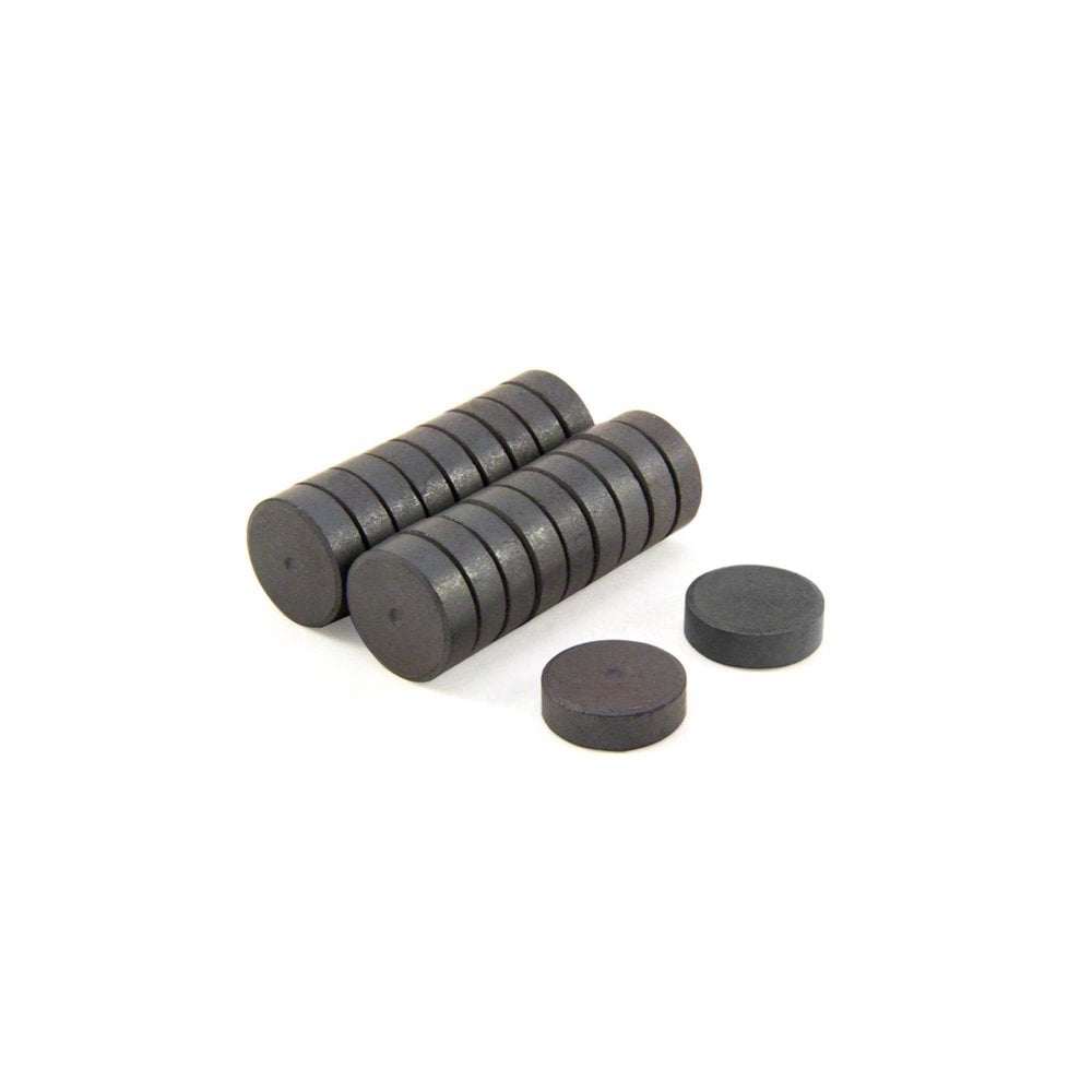 Black Magnet Ferrite 40mm Diameter 9mm Wide