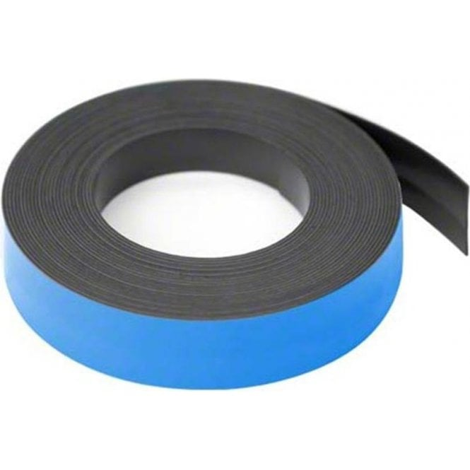 19mm wide x 0.76mm thick Coloured Magnetic Gridding Tape
