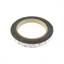 19mm wide x 0.85mm thick Flexible Neodymium Magnetic Tape with 3M Self Adhesive (30 x 5m lengths)