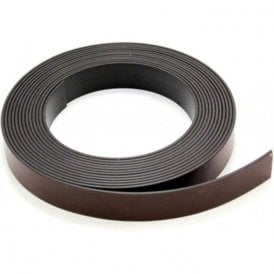 19mm wide x 1.5mm thick Magnetic Tape with Premium Self Adhesive - Self Mating ( 1m Length )