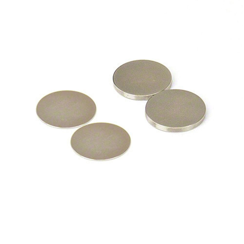 0.335 Thick. TaskMag Rubber Coated Neodymium Magnet with #1//4-20 Threaded Stud 2.60 Diameter