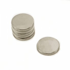 20mm dia x 3mm thick N42 Neodymium Magnet - 4.6kg Pull (Pack of 4)