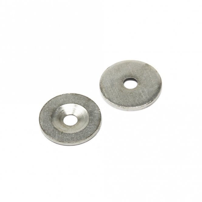 23mm dia x 2mm thick x 5mm c/sink Steel Disc