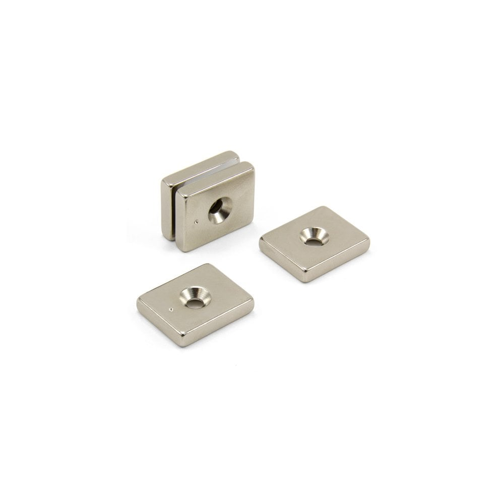 Neodymium Countersunk Ring Magnets 12mm x 4mm x 3.5mm N42 Strong Disc Rare Earth packs of 10