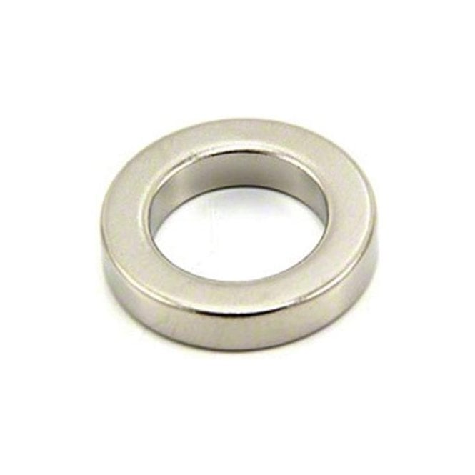 25mm O.D. x 16mm I.D. x 5mm thick N42 Neodymium Magnet - 9.4kg Pull ( Pack of 40 )