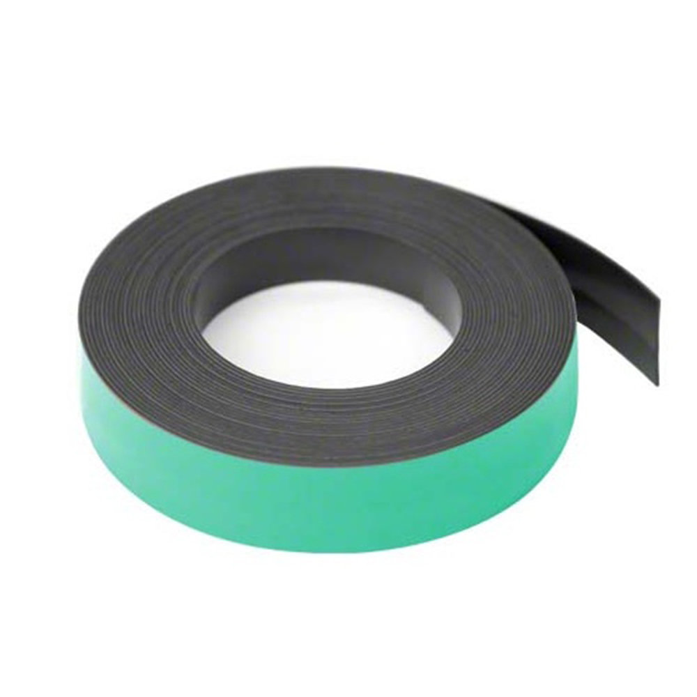 25mm Wide X 0 76mm Thick Coloured Magnetic Gridding Tape