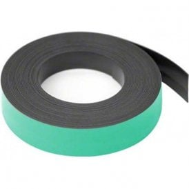 25mm wide x 0.76mm thick Coloured Magnetic Gridding Tape