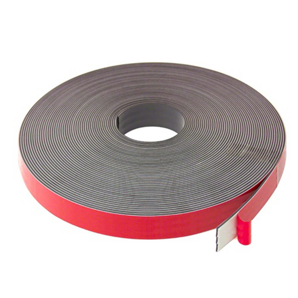 25mm X 2 5mm Wide Magnetic Tape With Premium Foam Adhesive
