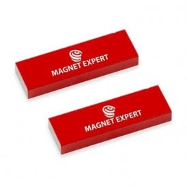 2x Alnico Rectangular Bar Magnets - 0.6kg Pull (12.5 x 5 x 40mm) (1 Set)