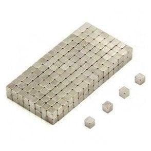 3 x 3 x 3mm thick N35 Neodymium Magnet - 0.28kg Pull