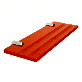300mm x 100mm Coloured Glass Accessory Holders for Glass Wipe Boards