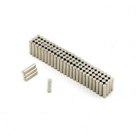 3mm dia x 12mm thick Diametrically Magnetised N42 Neodymium Magnet (Pack of 200)