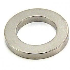 40mm O.D x 25mm I.D x 5mm thick Neodymium Magnet - 20kg Pull