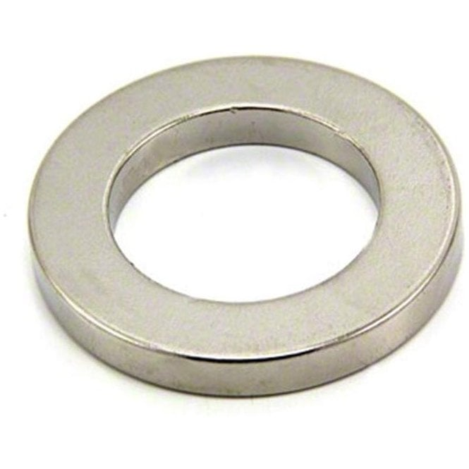 40mm O.D. x 25mm I.D. x 5mm thick Neodymium Magnet - 20kg Pull ( Pack of 40 )