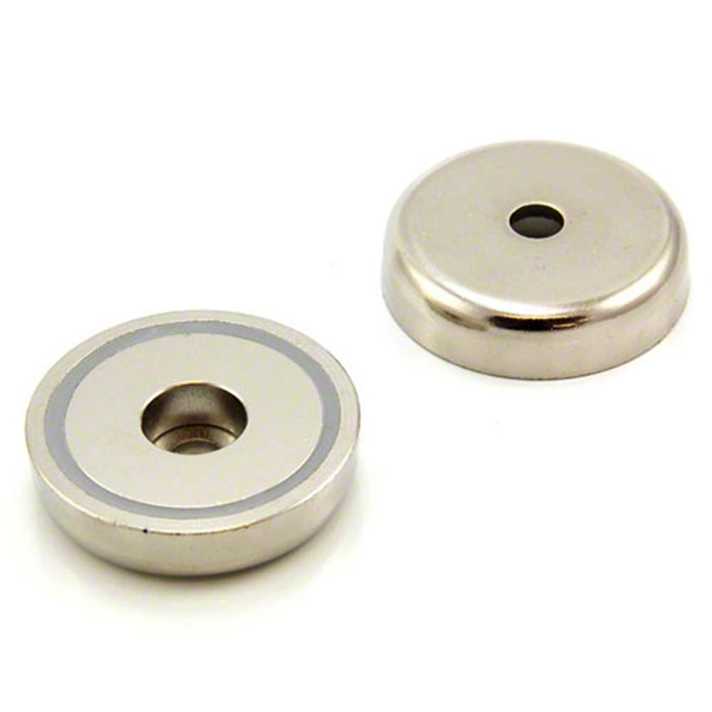 48mm Dia X 11 5mm Thick X 8mm C Bore N42 Neodymium Pot