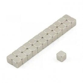 5 x 5 x 5mm thick N42 Neodymium Magnet - 1kg Pull ( Pack of 250 )