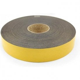 50mm wide x 1.5mm thick Magnetic Tape with Premium Self Adhesive - Polarity A ( 5 x 30m Lengths )