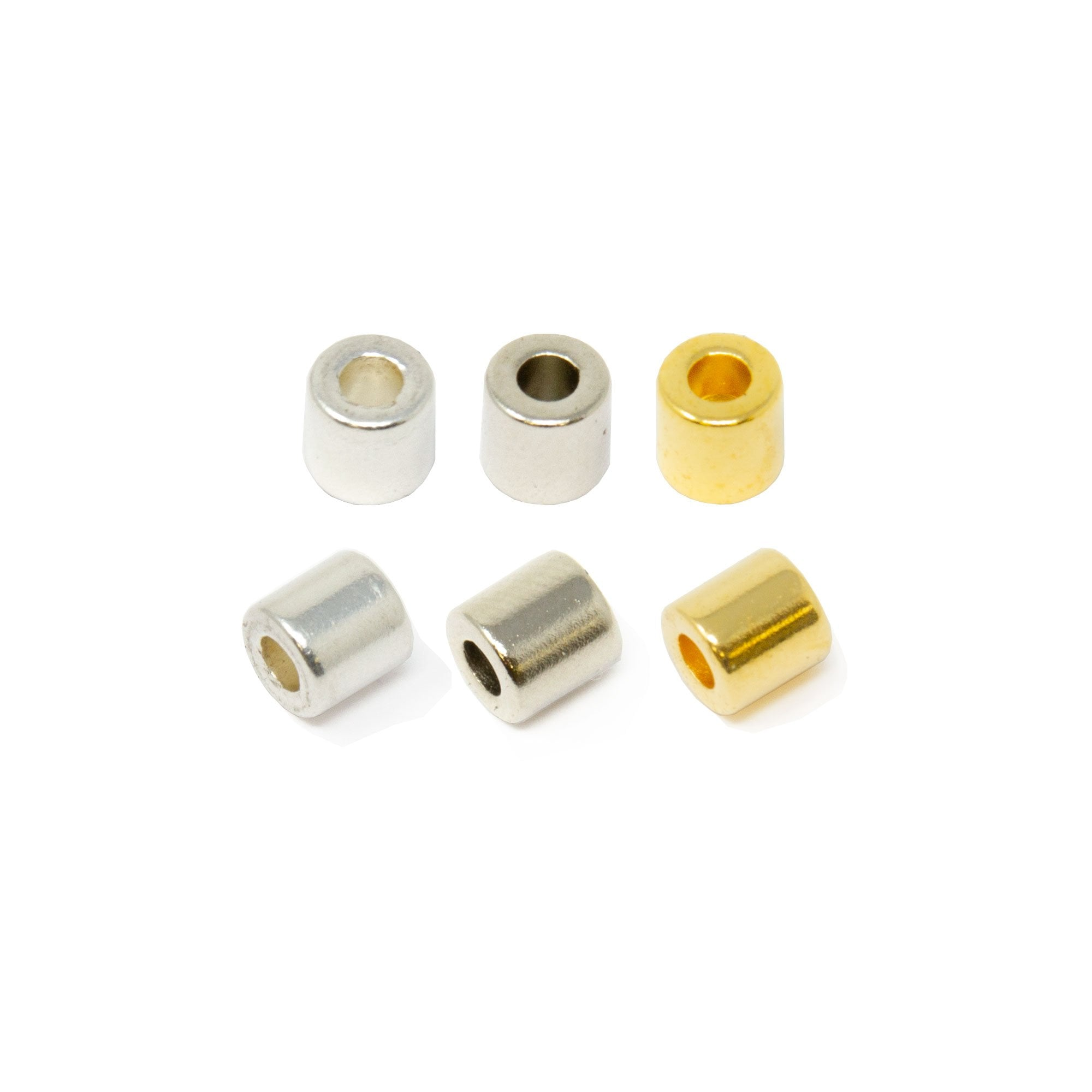 Magnetic Clasps Strong Silver Gold Plated For Jewellery 2 Pairs