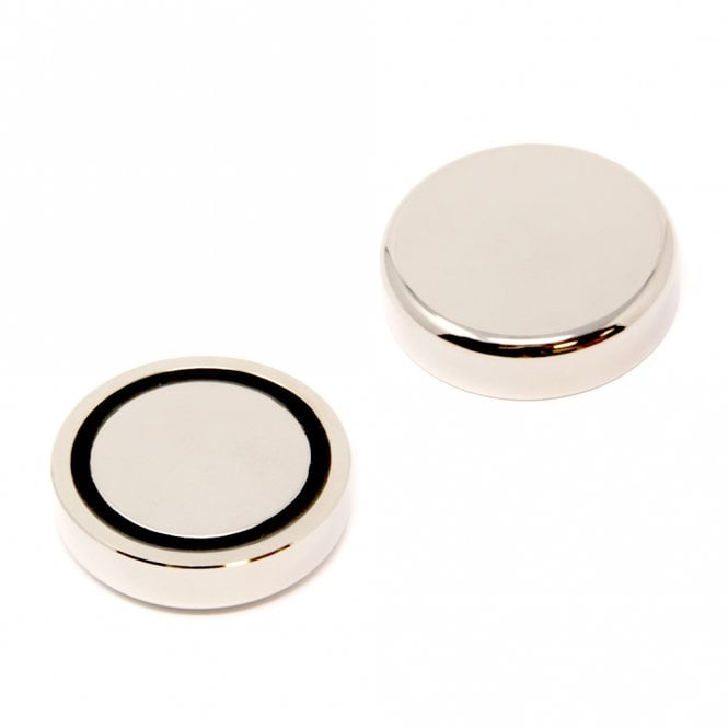 60mm dia N42 Neodymium Glue In Pot Magnet