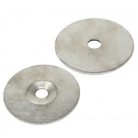 62mm dia x 2mm thick x 10.2mm c/sink Steel Disc (Pack of 10)