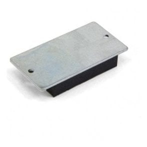 75 x 50 x 12mm thick Rubber Coated Mag Pad - 3.2kg Pull