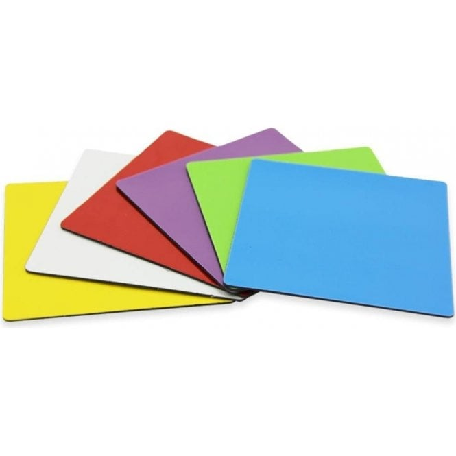75 x 75 x 0.85mm Flexible Magnetic Sheet with Gloss Dry-Wipe Surface